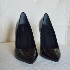 Michael Kors Patent Leather Pointed Toe Pumps